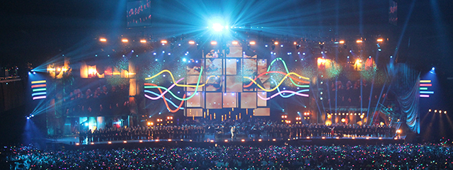 BBC MUSIC AWARDS 2014 – EARLS COURT. SET DESIGN – MISTY BUCKLEY